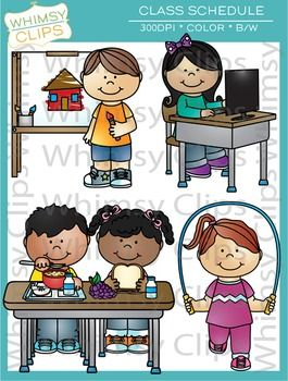 The class schedule clip art set was designed to help you create a fun visual for your daily class schedule. This fun set can also be used for worksheets and more. There are 14 images representing different classes/periods of the day. This set includes a total of 28 image files, which includes 14 color images and 14 black & white images in png and jpg. All images are 300dpi for better scaling and printing.