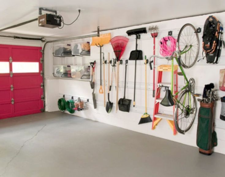 56 Neat And Well Organized Garage Home Decor Ideas