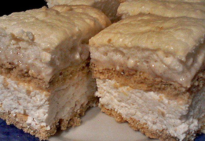 Túrós-citromos süti