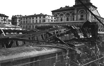 Stazione porta nuova nel 1944 partirono dalla stazione di - Orari treni porta nuova torino ...