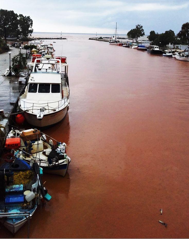 ALMIROS RIVER AFTER THE RAIN. Georgioupolis, Chania, Crete