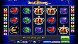 You can experience fast and exciting #game play as you spin the bejewelled slots and you have the chance to win big.