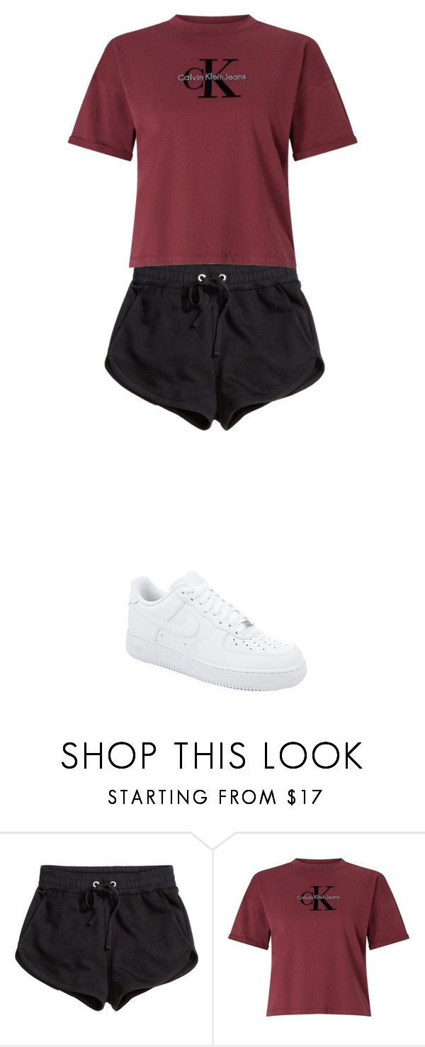 """Untitled #449"" by ericanunes on Polyvore featuring H&M, Calvin Klein and NIKE"