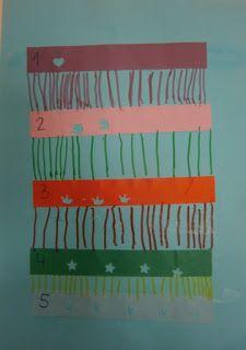 LA CLASE DE MIREN: mis experiencias en el aula: TALLER DE GRAFISMO: LÍNEAS VERTICALES Y TALADRADORAS