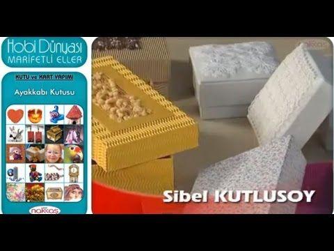 Kutu ve Kart Yapımı - Ayakkabı Kutusu - YouTube
