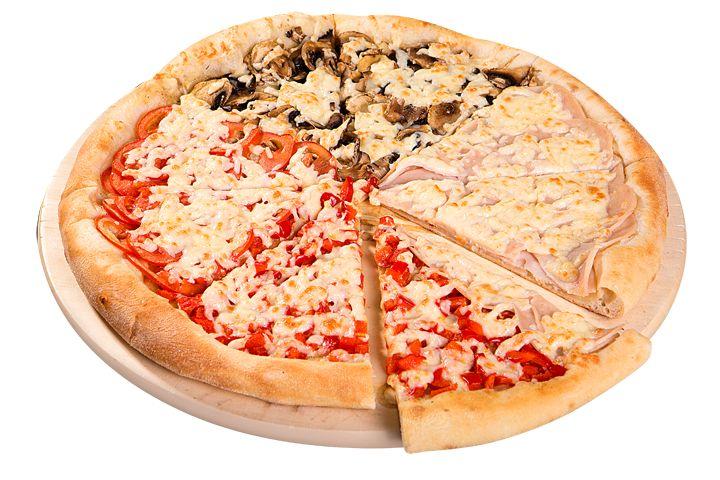 Четыре сезона 30см за 290р. - доставка пиццы в Черкесске из ресторана Фарфор