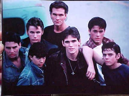 """Comment the name of this book/movie if you know it and your fave quote from it. Mine is, """"Stay gold, Ponyboy...stay gold."""""""
