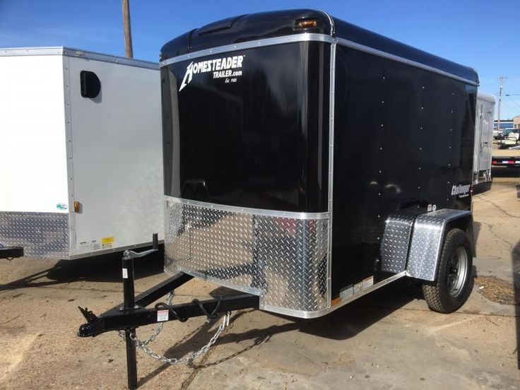 2017 Homesteader 5 x 8 Enclosed Cargo Trailer - US Trailer will lease used trailers in any condition to or from you. Contact USTrailer and let us lease your trailer. Click to http://USTrailer.com or Call 816-795-8484