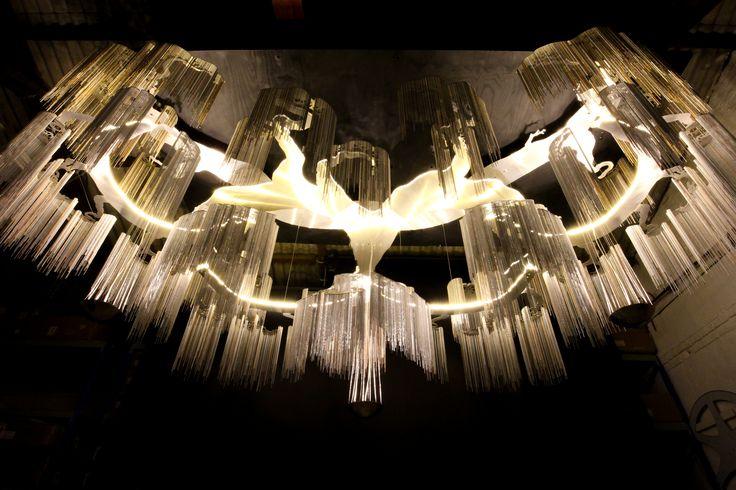#willowlamp #bespokelighting  #custom #FarawayTree #large #chandelier