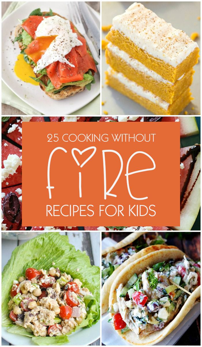 Cooking Without Fire Recipes for Kids 25 healthy and tasty no-cook recipes for breakfast, meals and snacks that does not involve any baking or cooking but still taste delicious. #RecipesforKids #withoutfire #HealthyRecipes