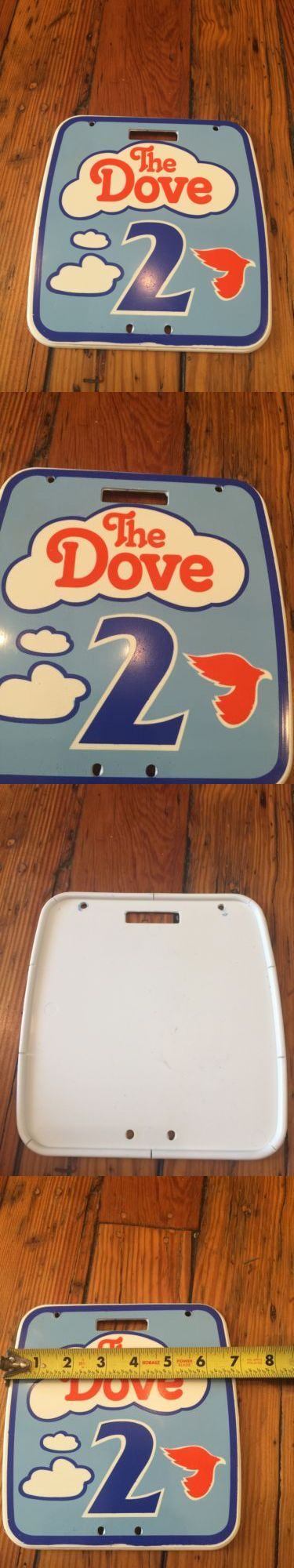 Decals Stickers 106953: Vintage Nos Old School 80 S Girls The Dove Bicycle Number Plate - -> BUY IT NOW ONLY: $31.45 on eBay!