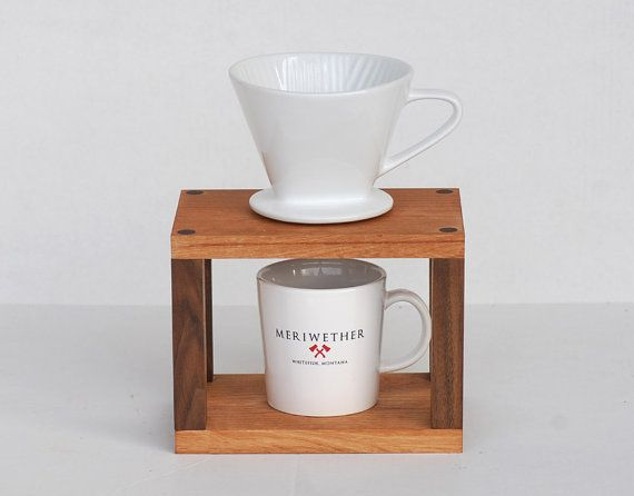 Drip Coffee Maker Stand : Coffee Drip Stand by MeriwetherOfMontana on Etsy USD 85 Drip Bar Pinterest Etsy and Coffee