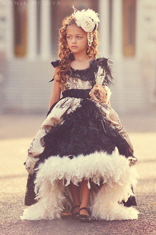"""""""Angelique""""...Stunning Couture Hair Accessories for Girls"""