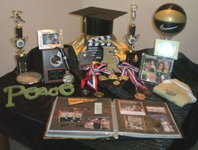 Table Set Up Graduation Party Ideas Pinterest