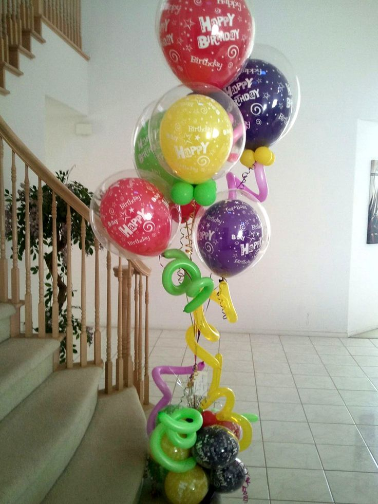 17 best images about let 39 s party on pinterest wedding for Balloon arrangement ideas