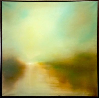 Derwent Water by Jonathan Speed  Lacey Contemporary Gallery Notting Hill London  Landscape Painting