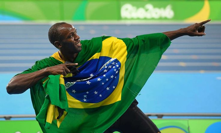 Usain Bolt: There have been plenty of athletes that have become stars after their exploits in track and field, but Usain Bolt is on another level. By blowing by the competition to win the 100m again, the 'World's Fastest Man' put us in awe as the only man to have done that in three consecutive Olympics. The photo of Bolt finishing his 100m semifinal heat may go down as one of the most iconic sports photos ever. More...