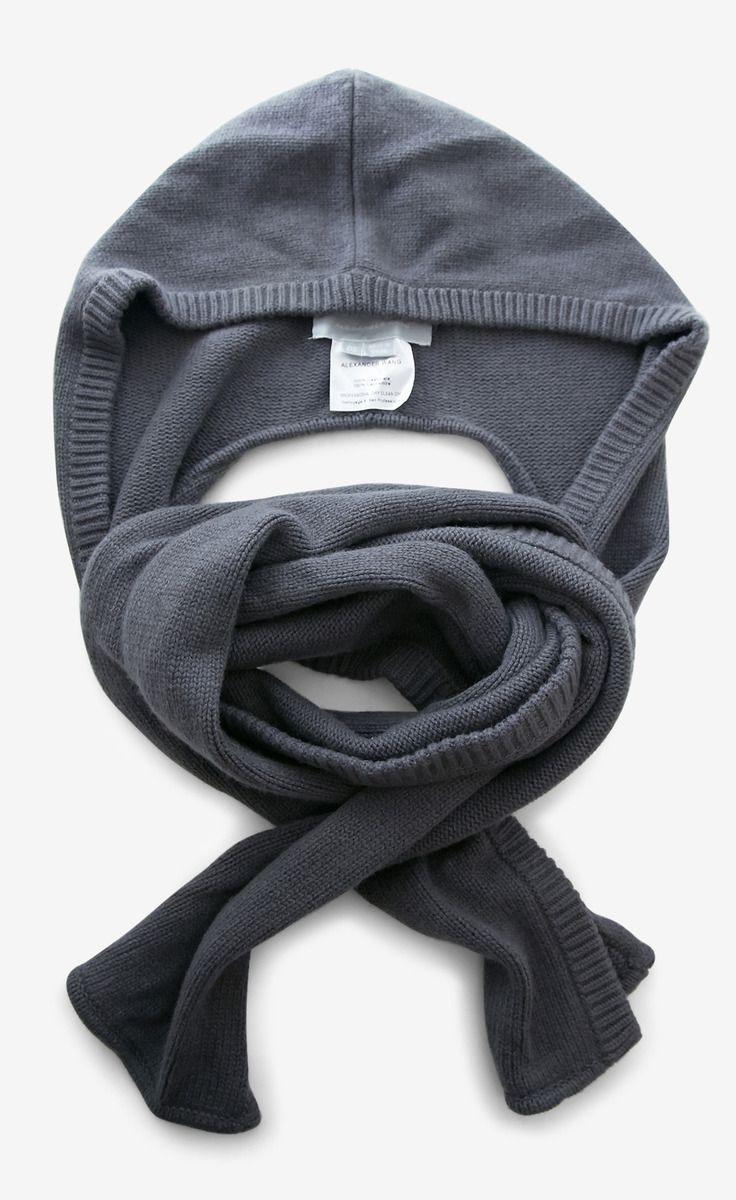 Hoodie scarf! I need!