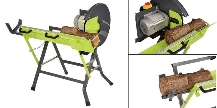 La scie à bûches 2000W est idéale pour la coupe de votre bois ! Elle vous fera gagner du temps grâce à sa capacité de coupe idéale pour bûche de 12 cm de diamètre. Équipée lame carbure de tungstène de 405mm de diamètre. Grande stabilité de la machine pour un travail plus sécurisant. Moteur 2000W monophasé (230 V ~ 50Hz), Vitesse de rotation: 2800 tr/min, Lame: 405mm / 32 dents, Capacité de sciage : ⌀30 à 120 mm. Disponible chez OOGarden