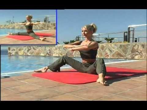 Pilates Parte 4 - Sin aparatos - Español de España - YouTube