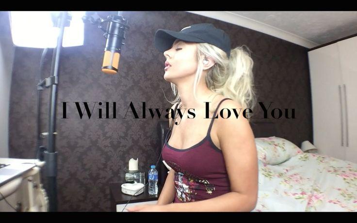 Whitney Houston | I Will Always Love You | Cover | Samantha Harvey @henrycarelse197