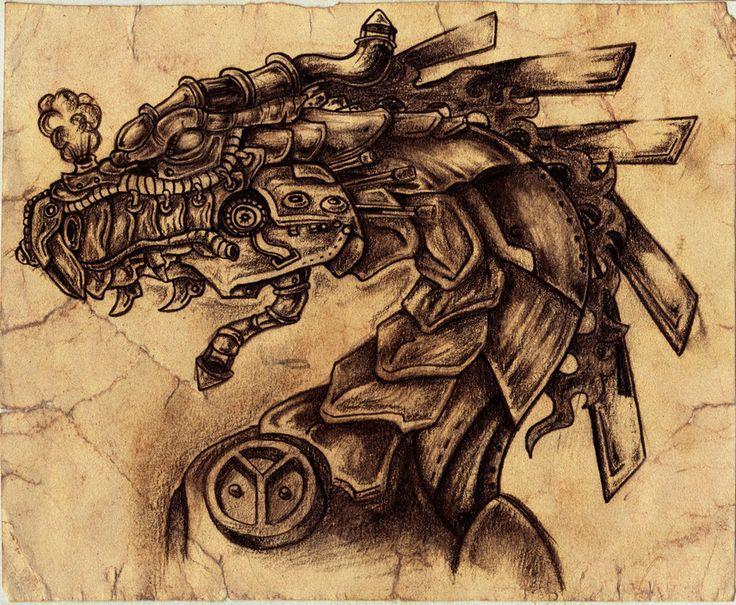 Kendal 316 - steam dragon
