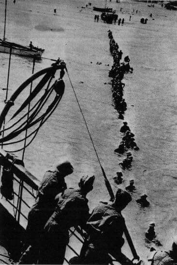 Dunkirk sometime around 26th May 1940