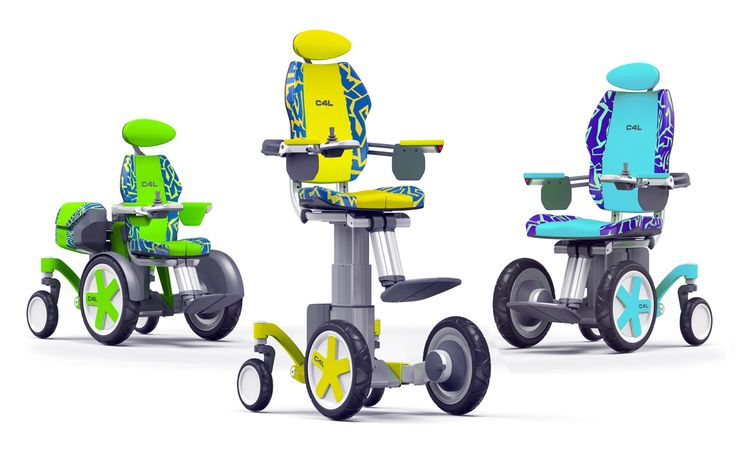Chair4Life is an innovative modular wheelchair that grows with the child, promoting independence for disabled children and young adults.