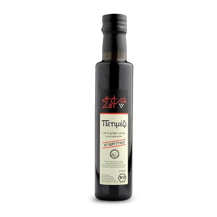 Organic Petimezi - natural grape syrup from Nemea Peleponnese! A must for every fine kitchen!! You use it once you use it forever!!!