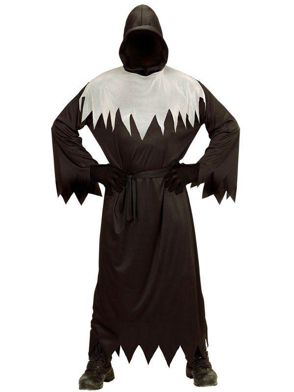 Halloween kutte i sort og grå. Kr. 155