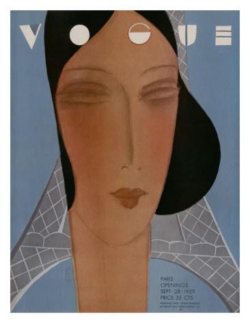Vogue Cover - September 1929 -    by Eduardo Garcia Benito ...........#GT