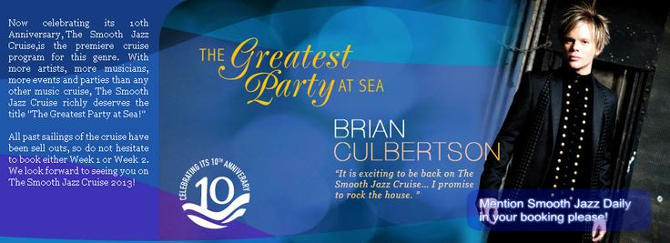 Smooth Jazz | ... 10th Anniversary Sailing of The Smooth Jazz Cruise | Smooth Jazz Buzz