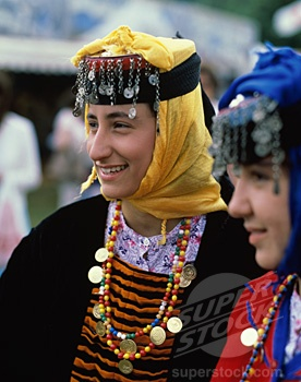 Traditional costume from Turkey