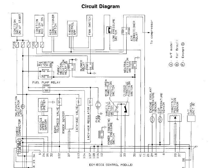 nissan pathfinder electrical wiring schematics 10  nissan