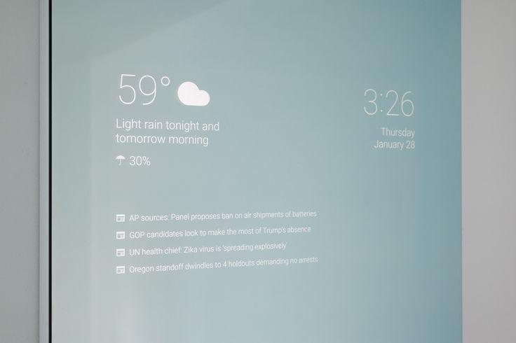 Tout comme certains amateurs de Raspberry, un ingénieur logiciel de Google nommé Max Braun a profité du temps libre qu'il avait à disposition pour créer son propre Smart Mirror.