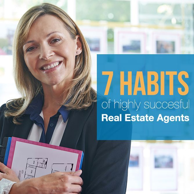 Becoming more successful as a real estate agent is easy when you start incorporating the seven habits discussed in this article.