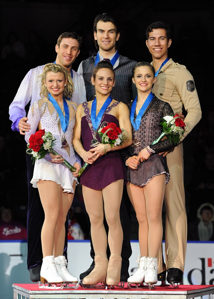 2013 Canadian Tire National Figure Skating Championships Senior Pair Podium 1. Meagan Duhamel & Eric Radford 2. Kirsten Moore-Towers & Dylan Moscovitch 3. Paige Lawrence & Rudi Swiegers skatecanada.ca