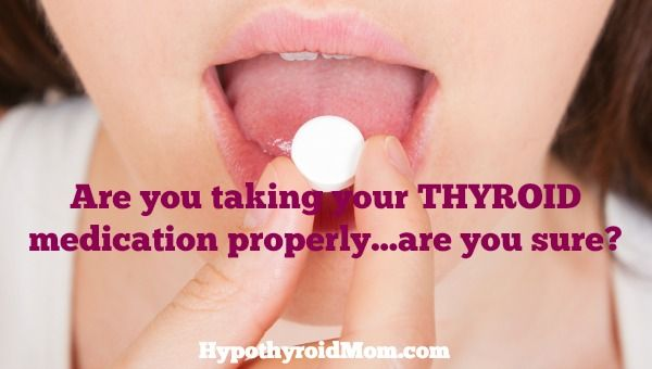 Are you taking your thyroid medication properly...are you sure? After three years of taking my #thyroid medication for #hypothyroidism every day, I found a great new thyroid doctor and discovered I was taking my thyroid medication all wrong.