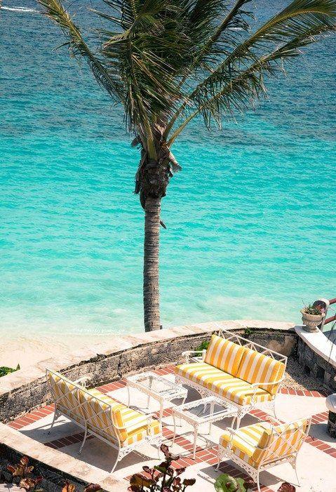 Statement Clutch - Palm Trees & Beach Bliss by VIDA VIDA Ha3JMSK