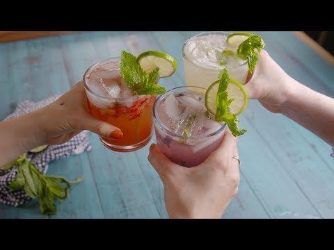 Best Mojitos 3 Ways Recipe - How to Make Mojitos 3 Ways