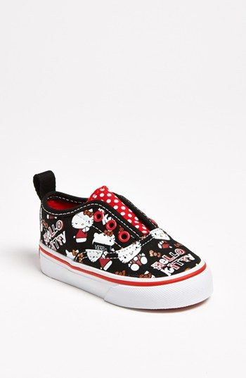 Vans 'Hello Kitty®' Sneaker (Toddler, Little Kid & Big Kid) available at #Nordstrom