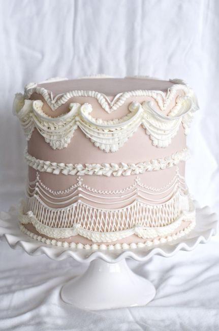 Embroidery Cake Designs