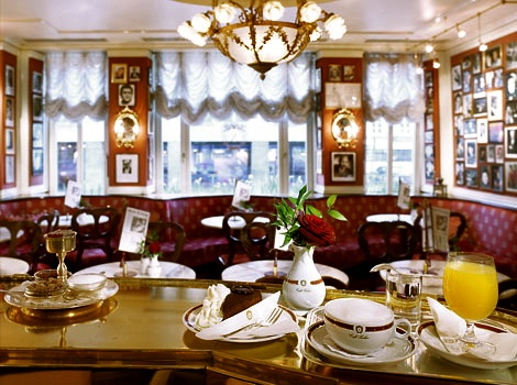 CAFE SACHER,Vienna.  Home of the infamous Sacher Torte