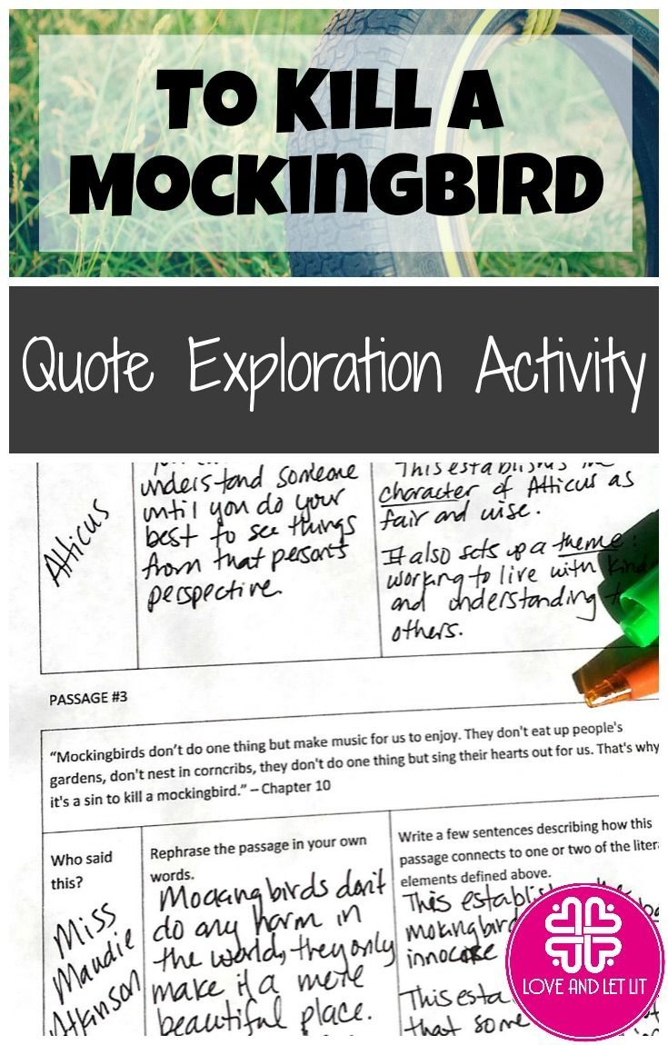 to kill a mockingbird quotes and analysis