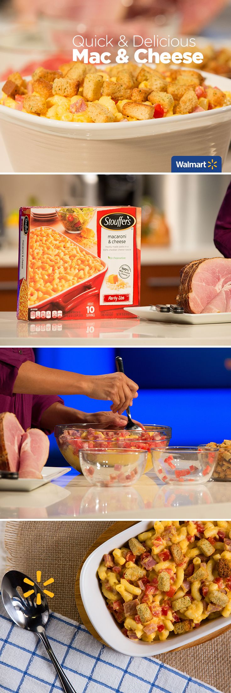 Stouffer's Macaroni and Cheese | Walmart - Remake a Thanksgiving ...