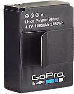 GoPro Rechargeable Battery: Get it for $9.99 (was $19.99) #coupons #discounts