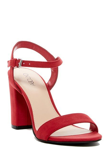 32a429265b9 Abound - Steph Faux Suede Block Heel Sandal