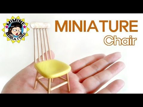 how to: miniature chair