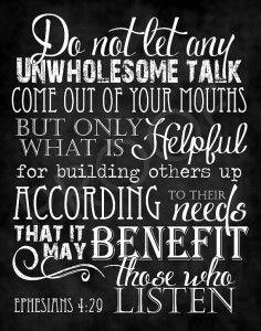 Ephesians-4.29