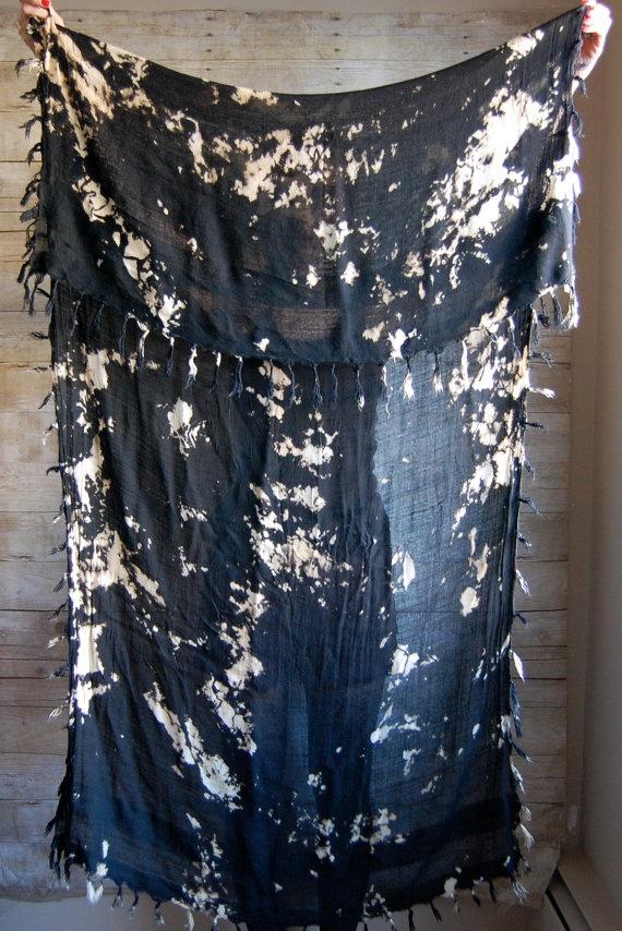 Huge tie dye wrap shawl #boho #style